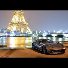 Paris lights - Ferrari Berlinetta