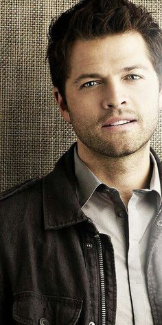 Misha Collins photo shoot. #Supernatural #Castiel #SPN