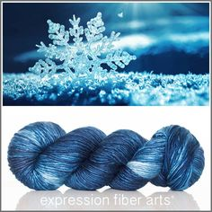 Glimmer pearlescent worsted yarn - expression fiber arts