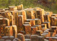Causeway Light - Oil Paintings Oil Paintings, Pastel, Texture, Wood, Crafts, Art, Surface Finish, Art Background, Pie