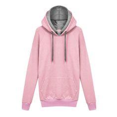Women Hoodie Long Sleeve Sweatshirt Jumper  Hooded Pullover Coat Tops