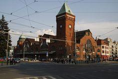 Hala Targowa (Market Hall), Piaskowa St,. Wrocław, Poland built in 1908 #Wroclaw #Breslau
