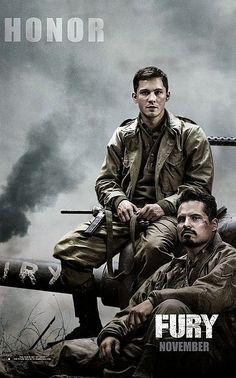 """Novos pôsteres do filme """"Corações de Ferro"""" http://cinemabh.com/imagens/novos-posteres-filme-coracoes-de-ferro"""