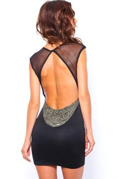 LITTLE OPEN BACK DRESS