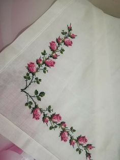 Cross Stitch Rose, Crochet, Cross Stitch Embroidery, Towels, Kitchens, Trapper Keeper, Dots, Embroidery, Ganchillo