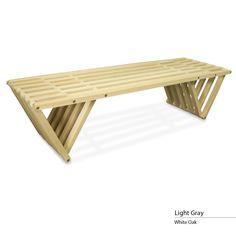 touchGOODS Premium White Oak Bench X70
