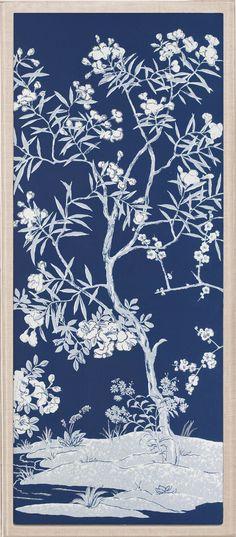 Blue Tree Panels 1 | Natural Curiosities