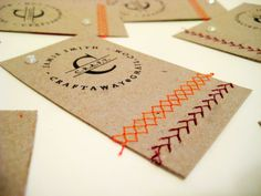 5 DIY Business Card Ideas - Spoonflower Blog – DIY Fabric, Wallpaper, Decals and Gift Wrap