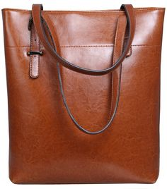 36c6f86166cff Iswee Womens Leather Tote Bag Shoulder Bags Handbags Purse for Ladies  (Wine) Southern Belle