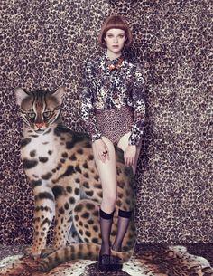 The FashionBirdcage: 'Safari', The Sunday Times Style Magazine September 2-13