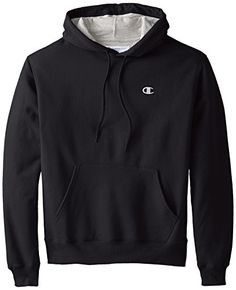 Champion Men's Pullover Eco Fleece Hoodie, Navy Heather, X-Large ...