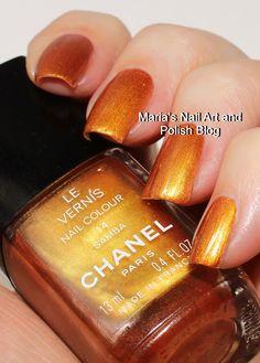 Chanel Samba 14 Opi Nails, Nails Inc, Nail Manicure, Manicures, Chanel Nail Polish, Chanel Nails, Long Nail Art, Nail Art Blog, Picture Polish