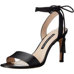 French Connection Women's Liesel Dress Sandal ($27) ❤ liked on Polyvore featuring shoes, sandals, braided sandals, strappy sandals, french connection shoes, dress sandals shoes and strappy shoes