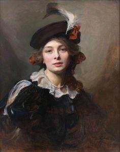 Philip de László (1869-1937), Portrait of Princess Max Egon von Hohenlohe-Langenburg, née María de la Piedad de Yturbe, 1906. Joaquín…