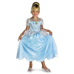 Cinderella Classic Costume Disney. $17.29. Attached faux pearls. Size: Child S(4-6x), M(7-8). Sparkle overlays. A Beautiful Cinderella dress. Cinderella Cameo on dress