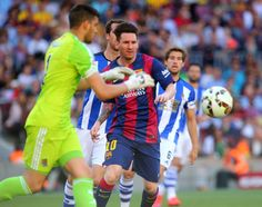 Jornada 36 partido FC Barcelona- Real Sociedad. Foto: PEP MORATA