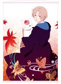 'Natsume Yuujinchou' Poster by langpawen Manga Anime, Anime Art, Natsume Takashi, Onii San, Hotarubi No Mori, Otaku Mode, Natsume Yuujinchou, Another Anime, Handsome Anime Guys