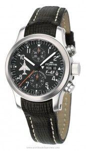 Fortis B42 Phantoms Phorever Flieger Chronograph automatic wrist watch