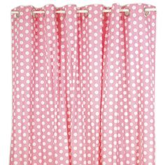 Looks Cute Floral Shower Curtain Pink And Baby Blue