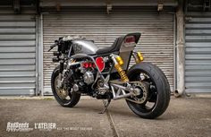 Honda CBX1000 Cafe Racer by BadSeeds Motorcycle Club #caferacer #motorcycles #motos | caferacerpasion.com