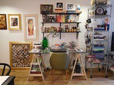 Projeto Up no Home Office - escritório em Londres de Heloisa Righetto;