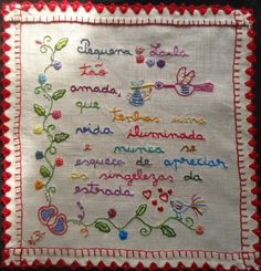 LN52_25x25cm Embroidery Hoop Art, Embroidery Stitches, Embroidery Ideas, Diy And Crafts, Arts And Crafts, Sewing Stitches, Handicraft, Needlework, Craft Projects
