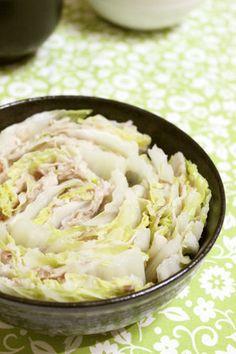 レンジで7分*豚バラと白菜の重ね蒸し