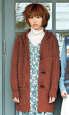 Free Knitting Pattern Hood Jacket : 1000+ images about Free Hooded Cardigan Patterns on ...