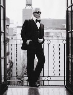 Karl Otto Lagerfeld word,the most influential fashion designers in the second half of the 20th century.(he was born in Hamburg-Germany)