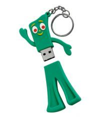Gumby usb flash drive. To be more specific: OH HOW I WANT THIS!!!!!  I love Gumby.  AND it plays his theme song!