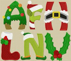 Christmas Alphabet Free until the end of October
