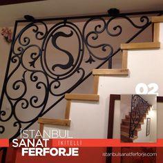 Emirgan'da bir müşterimiz için yapmış olduğumuz kişiye özel Merdiven Korkuluğu. Kendilerine güle güle kullanmalarını diler bizi tercih ettikleri için teşekkür ederiz. Erol UÇAR - İstanbul Sanat Ferforje | istanbulsanatferforje.com #ferforje #istanbulsanatferforje #korkuluk #merdivenkorkuluğu #balkonkorkuluğu #ferforjekapı #ferforjebahcekapısı #ferforjedemirkapı #demir #masa #sandalye #sehpa #kapı #aksesuar #yatak #ferforjeyatak #yatakbaşlığı #mimar #mimari #içmimar #icmamar #içmimari…