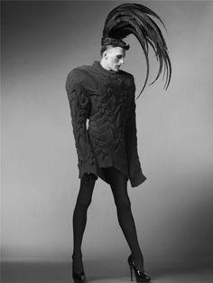 another stunner from british fashion prodigy Gareth Pugh.
