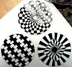 Check out student artwork posted to Artsonia from the Op art CDs for mobile project gallery at Lawrence School.