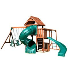 Swing-n-Slide Grandview Twist Complete Swing Set