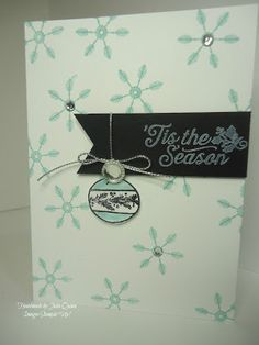 handmade by Julia Quinn - Independent Stampin' Up! Demonstrator: Hello December 2015