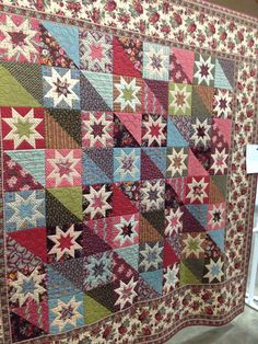 Patchwork The Vast Alternative Of Indoor Crops Relating to selecting indoor crops there isn't a dear Star Quilt Blocks, Star Quilt Patterns, Star Quilts, Scrappy Quilts, Canvas Patterns, Quilting Projects, Quilting Designs, Fat Quarter Quilt, Civil War Quilts
