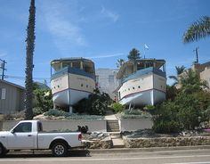 "Haha talk about a ""house boat"". I also like the flagship house and the shipping container house. cool ideas!"