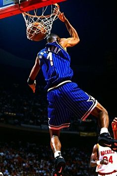 One of the reasons i like the magic when i religiously began watching the  NBA Anfernee Hardaway Orlando Magic -- 60fd212b3