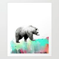 Art Print featuring Wild No. 1 // Bear by Amy Hamilton