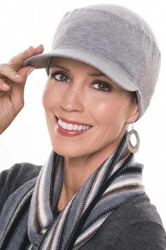 7269f37ecf0 Soft baseball cap in cotton. Designed with full head coverage - xcellent  for cancer