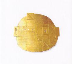 Brosche, 1969, Gold 750, Diamanten-Karée, punziert, Inv.Nr.296/2004/RR (Foto:JürgenEickhoff)