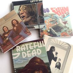 Album cover sketchbooks and journals?  So cool...must do this with my vinyl collection