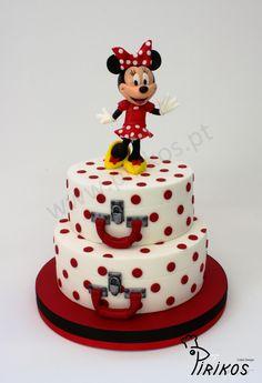 Tartas de cumpleaños - birthday Cake - Pirikos Cake Design: Minnie