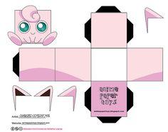 JIGGLYPUFF (POKEMON) by animepapertoys, via Flickr