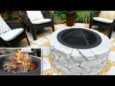 Terrific Photo Backyard Fire Pit grill Strategies Lots of modern home owners are. - Terrific Photo Backyard Fire Pit grill Strategies Lots of modern home owners are looking for more t - Wood Fire Pit, Concrete Fire Pits, Wood Burning Fire Pit, Easy Fire Pit, Fire Pit Grill, Garden Fire Pit, Fire Pit Backyard, In Ground Fire Pit, Fire Pit Gallery