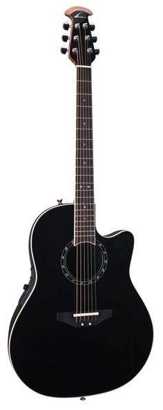 Ovation Balladeer Standard Acoustic Electric Guitar