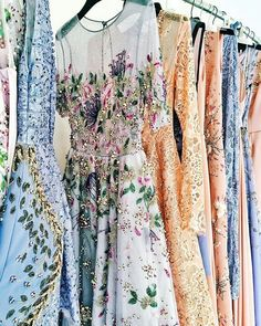 These dresses are so dainty, and yet pretty