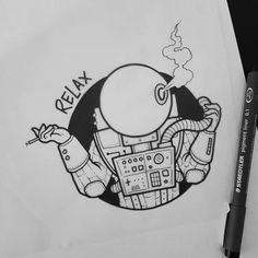 #tattoo #tattoos #tattoodesign #tattooart #tattooflash #art #bodyart #doodle #drawing #sketch #artwork #artist #blackwork #blackworkers #blackworker #oldschool #oldschooltattoo #traditionaltattoo #blacktattooart #blacktattoo #londontattoo #uktattoo #astronaut #space #relax