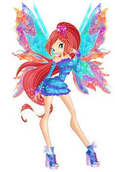Winx club - bloom - mythix - 2D